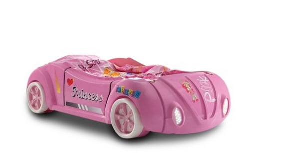 Autobett rosa