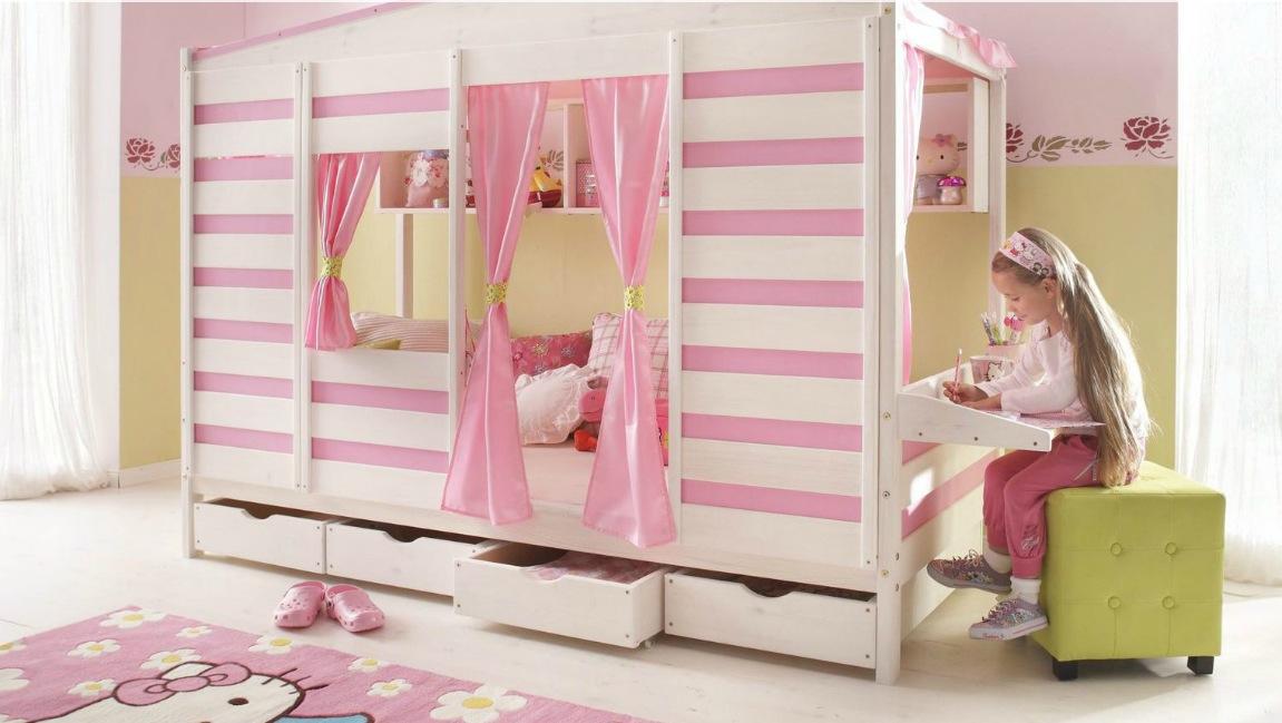 top10 der originellsten kinderbetten f r m dchen mommies use side door. Black Bedroom Furniture Sets. Home Design Ideas