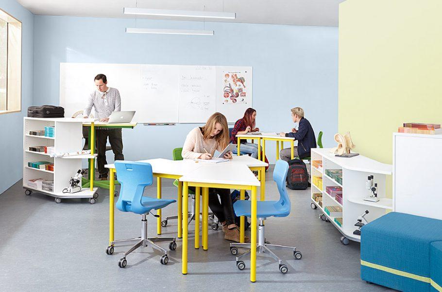 Klassenzimmer 2.0 - neue Möbel für Eure Schule