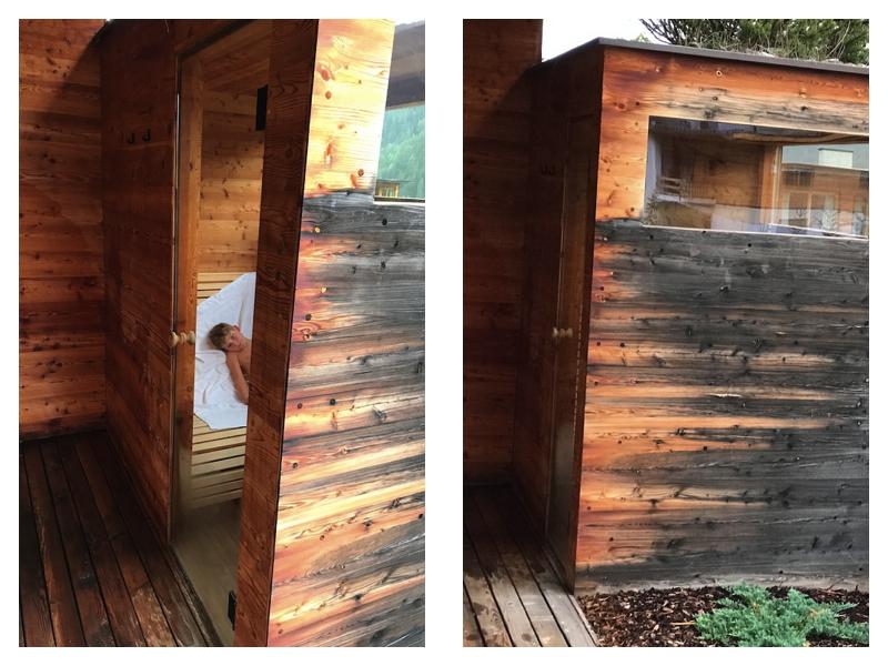 So ne private Sauna auf dem Balkon, das hat schon was;-)